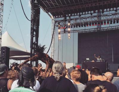 Jazz Cartier Riot Fest 2015